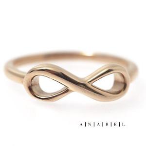 Hringur infinity rósagull